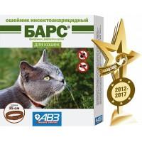 Барс ошейник инсектоакарицидный для кошек