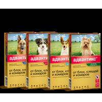 Адвантикс капли от клещей для собак