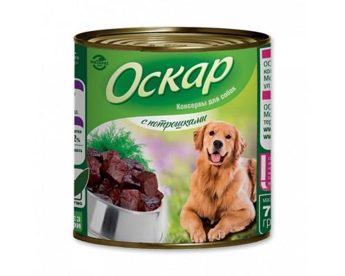 Обзор консерв для собак Оскар «С потрошками»
