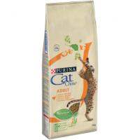 Cat Chow для кошек, с домашней птицей