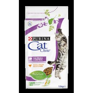 Cat Chow для кошек, вывод шерсти, 1,5кг