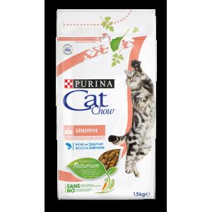 Cat Chow для кошек, чувствительное пищеварение