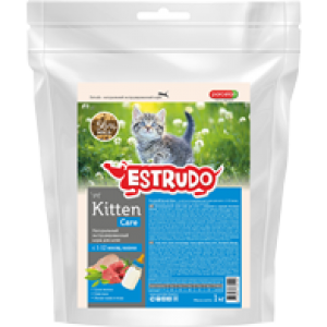 Сухой корм Porcelan Estrudo Kitten для котят 1 кг