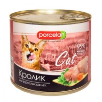Porcelan 95% для кошек, Кролик, 525 г