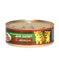Porcelan для котят, Лосось, 250 г