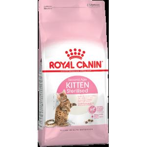 Корм Royal Canin Kitten Sterilised для стерилизованных котят до года, 0,4кг