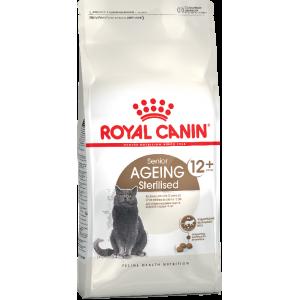Корм Royal Canin для стерилизованных кошек старше 12 лет, 0,4кг