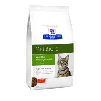 Hill's Metabolic для кошек контроль веса, 4кг