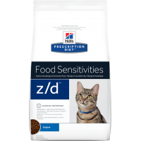 Hill's Z/D для кошек, при острых пищевых аллергиях, 2кг