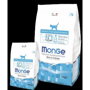 Сухой корм Monge для котят