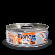 Консервы Monge для кошек тунец с лососем 80 г