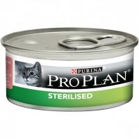 Консервы Pro Plan для стерилизованных кошек, лосось и тунец, 85 г