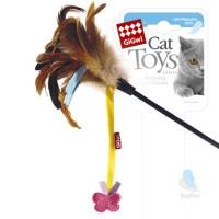 Игрушка для кошек Дразнилка GiGwi с бабочкой