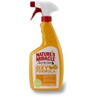 Спрей уничтожитель пятен, запахов от кошек Nature's Miracle Orange-Oxy Formula 710 мл