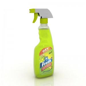 Спрей Mr.Fresh 3в1 Ликвидатор пятен и запаха для кошек, 500мл