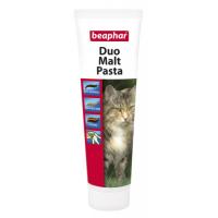 Паста Beaphar Duo Malt Paste для выведения шерсти для кошек, 100г