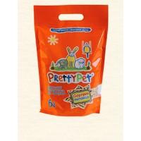 Наполнитель PrettyCat  древесный с морковными чипсами для грызунов и птиц 6 л