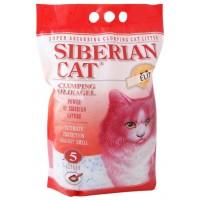 Наполнитель Сибирская кошка ЭЛИТА комкующийся силикагель