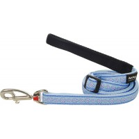 Поводок Red Dingo светло-голубой Daisy Chain 25мм*1,8м