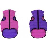Жилетка AiryVest для собак  XS 25см, розово-фиолетовая