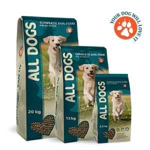 Сухой корм ALL DOGS для собак