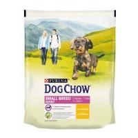 DOG CHOW для взрослых собак малых и миниатюрных пород с курицей