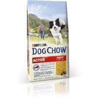 DOG CHOW для активных собак, с курицей