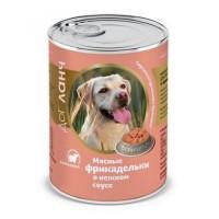 Консервы Dog Lunch Фрикадельки в нежном соусе, ягнёнок, 850г