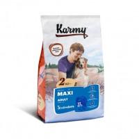 Karmy для собак крупных пород, телятина с рисом