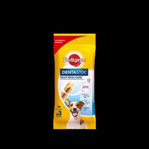 Лакомство по уходу за зубами PEDIGREE® Denta Stix™ для собак малых пород от 5 до 10 кг