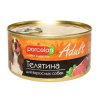 Porcelan 95% для собак, Телятина 325 г