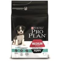 Pro Plan для щенков с чувствительным пищеварением , ягненок и рис
