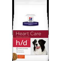 Hill's H/D для собак при заболеваниях сердца, 5 кг