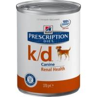 Hill's K/D для собак при заболеваниях почек, 370г