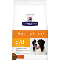 Hill's C/D для собак профилактика и лечение МКБ