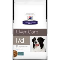 Hill's L/D для собак с заболеванием печени