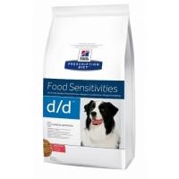 Hill's D/D для собак при пищевых аллергиях, лосось и рис