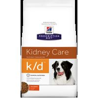 Hill's K/D для собак при заболеваниях почек