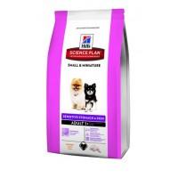 Hill's для декоративных собак, чувствительно пищеварение и кожа