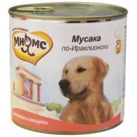Консервы Мнямс для собак ягненок с овощами. 600 г
