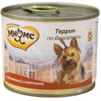 Консервы Мнямс для собак Террин по-Версальски, 200 г