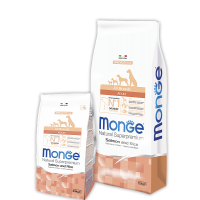 Monge для собак, лосось с рисом