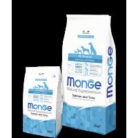 Monge для собак, гипоаллергенный, лосось и тунец