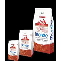 Monge для щенков, ягнёнок и рис