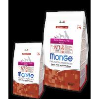 Monge для собак миниатюрных пород ягненок с рисом и картофелем 800г