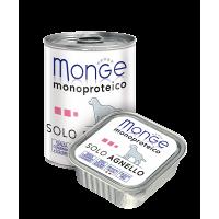 Паштет Monge Monoproteico для собак, из ягненка