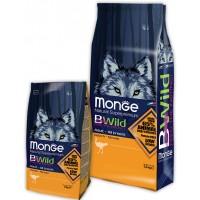 Monge Bwild для собак с мясом страуса