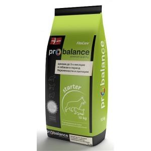 ProBalance Starter Корм сухой для щенков до 3-х месяцев и собак в период беременности и лактации, 10 кг