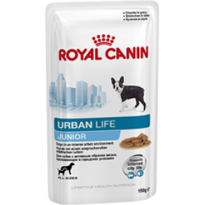 Royal Canin urban life junior, 0,15кг
