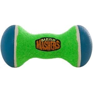 """R2P игрушка для собак Mega Masher """"Гантеля"""" 15 х 8 см вспененная резина с покрытием теннисного мяча"""
